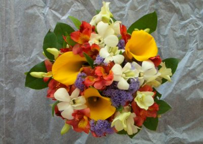 """Mixed Tropicals"" bouquet"