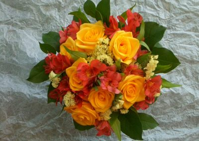 """Orange Blossom"" bouquet"
