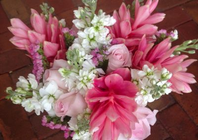 """Pink Ginger"" bouquet"