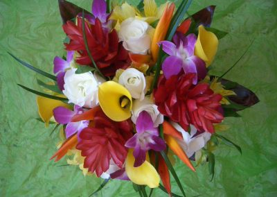 """Tropical Explosion"" bouquet"